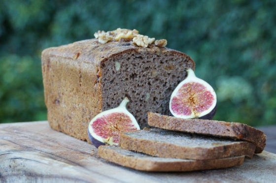 Fig and Walnut Spelt Bread