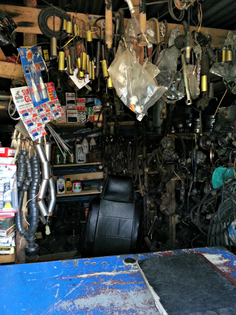 Local car garage