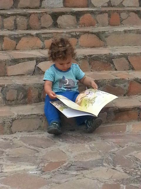 Lucas reading